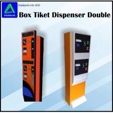 Box Tiket Parkir Double