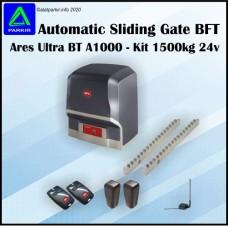 Sliding Gate BFT Ares BT A1500 - Kit 1500kg 24v Pintu Pagar Otomatis