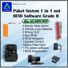 Paket Sistem RFID Software 1 in 1 out Grade B