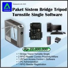Paket Tripod Turnstile Single Software