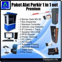 Paket Alat Parkir Premium
