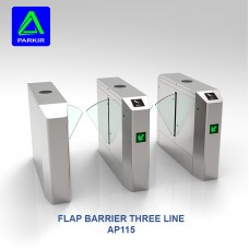 Three Line Flap Barrier