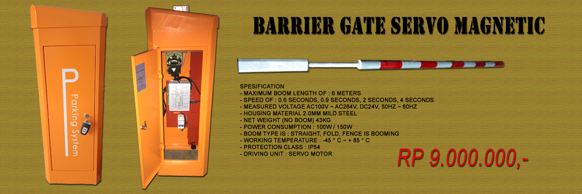 Barrier Gate Servo Magnetic