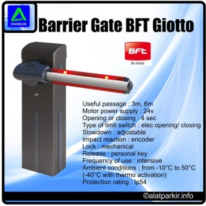 Barrier Gate BFT Giotto AP103