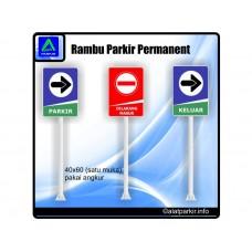 Rambu Parkir Permanent